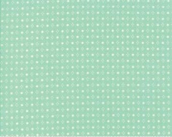 Handmade Aqua Spots by Bonnie and Camille from Moda - 1/2 yard. 55143-12