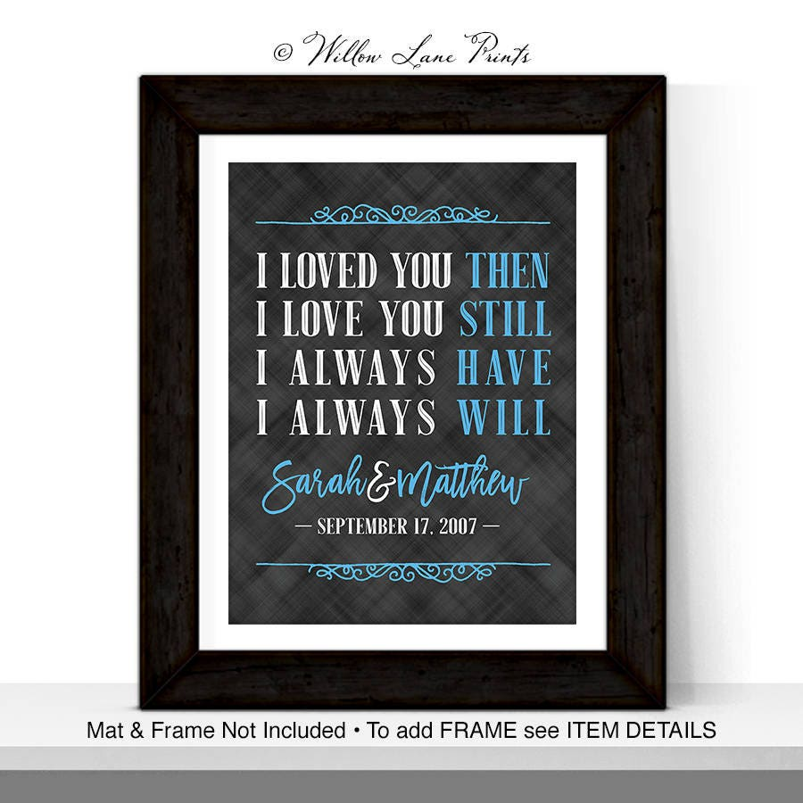 50th Anniversary For Husband Gifts: 30th Anniversary Gift For Wife Or Husband 30th Wedding