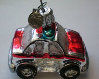 Department 56 Police Car Christmas Tree Ornament - 5758