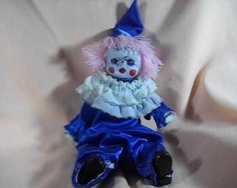 Horror Clown Doll, Evil Clown, Creepy Clown, Scary Clown, Haunted Clown, Haunted House Clown, OOAK