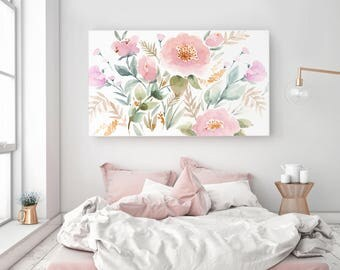 Perfect Gallery Style Canvas Print, Stretched Canvas Art, Canvas Wall Art, Canvas  Giclée Watercolor