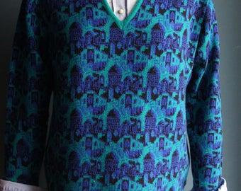 Vintage Pullover Jacquard