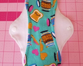 Cloth Pad/Moderate Flow/ 8.5 inches Long-