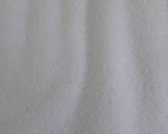 Organic bamboo towelling, white towelling fabric, towellig fabric, soft cuddle material, fabric for baby, half metre, organic fabric