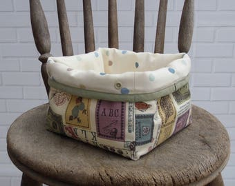 Fabric Storage Basket | Bin | Organiser | Mini Storage