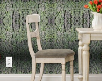Wall Paper Peel and Stick,Tangerine Dream Cannabis Wall Art, Wall Paper Removable, Botanical Wallpaper, Tropical Wallpaper, Jungle Wallpaper