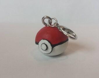 Cute Pokeball Charm