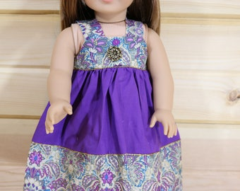 Purple Spring Dress