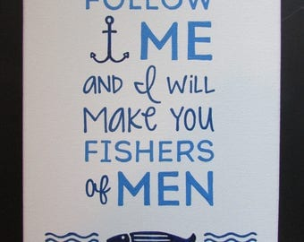 Canvas Painting - Fishers of Men