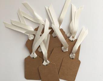 Gift bag tags - kraft - gift tags - tags #41603
