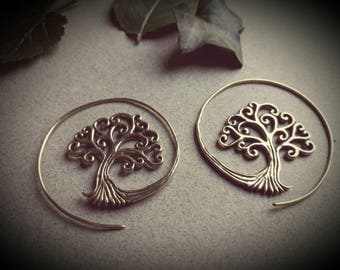 earrings *tree of life small*
