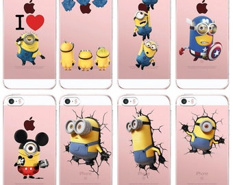 Cases the Minions for Iphone and Samsung