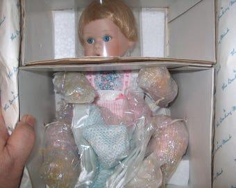 Vintage Danbury Mint Doll, Allison, New in Box