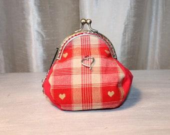 Wallet RETRO cotton hearts
