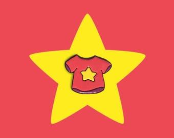 Steven Universe Enamel Pin (Steven Universe T-shirt, Garnet, Amethyst, Pearl, Peridot, Sapphire)