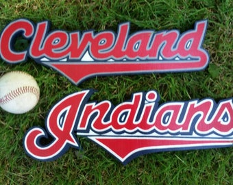 Cleveland Indians signs