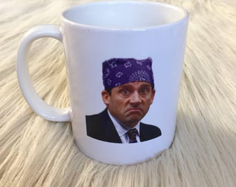 Prison Mike Michael Scott Inspired Mug
