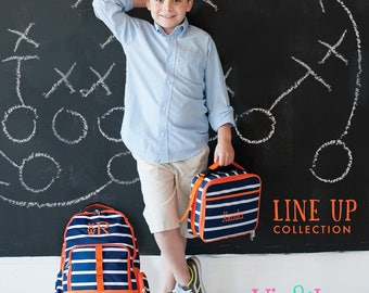 Line-Up Collection Collection - Backpack/Lunch Box/Pencil Case