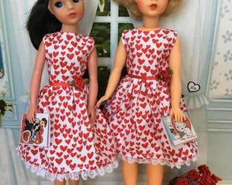 Adult collectors Sweetheart dress for Sindy and Tammy.