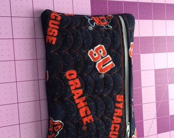 Hand made SU (new fabric) small zippered cosmetic/i phone/money bag