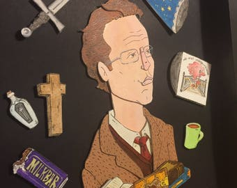 Rupert Giles: A Vision in Tweed Portrait