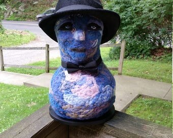 felted sculpture