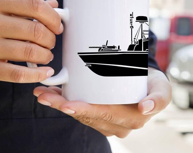 KillerBeeMoto:  U.S. Made Vietnam Era PBR River Patrol Boat