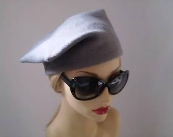 Wonderful Unique Vintage Style Beret Hat.