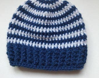 Crocheted Baby Hat 0-3 months