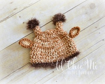 Baby Giraffe Hat~Photography Prop/Baby Gift