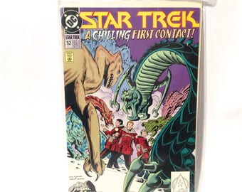 Vintage 1993 Star Trek DC Comic Book Number 52/Sealed and Boarded