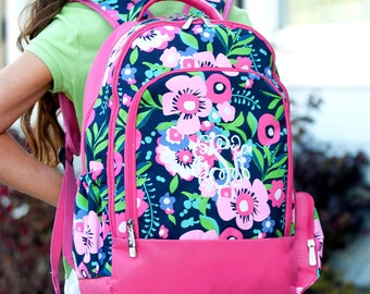 Wholesale Boutique Posie Collection Backpack Monogrammed