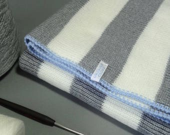 Fine Italian Merino Wool baby blanket