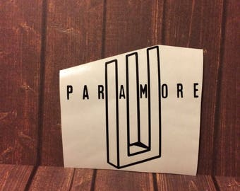 Paramore After Laughter Logo | Vinyl Decal
