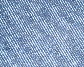 Iron on imitation blue denim print sheet
