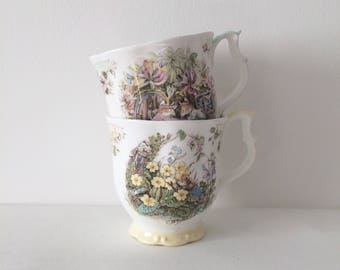 Vintage mugs by Royal Doulton