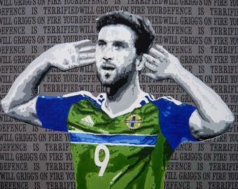 Will Grigg's On Fire Print