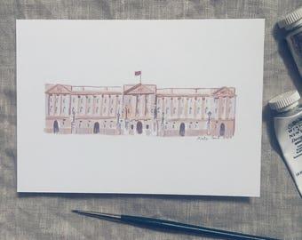 Buckingham Palace Print