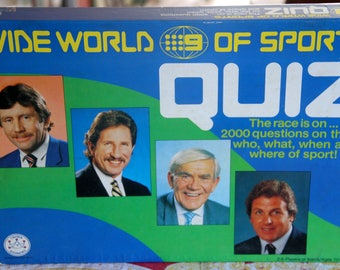 Channel 9 Wide World of Sports Quiz board game, 1988;