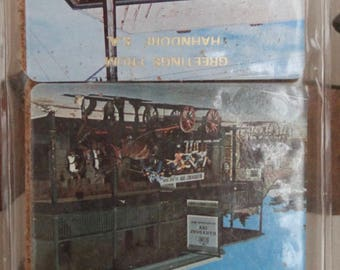 Vintage Cork Backed Australian Souvenir Bar Coasters Set of 6 Unused , Hahndorf, SA