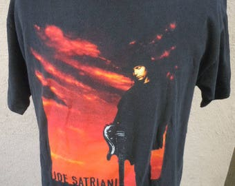 Size XL (48) ** Joe Satriani 1995 Tour Shirt (Double Sided)
