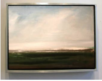 """Abstract Landscape Oil Painting 03 Original 20"""" x 16"""""""