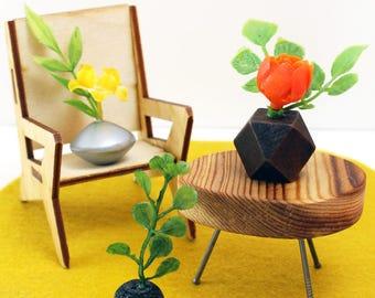 Set of 3 Miniature Vases - Stunning Singles Set