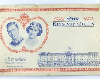 British Cigarette Card Set ( Full set of 50 Cards) - Our King and Queen. Issued 1937 by Wills Cigarettes.