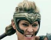 Custom Wonder Woman headband