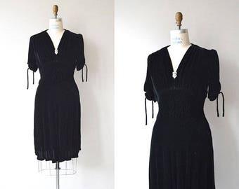 THE little black dress - 1930s vintage dress