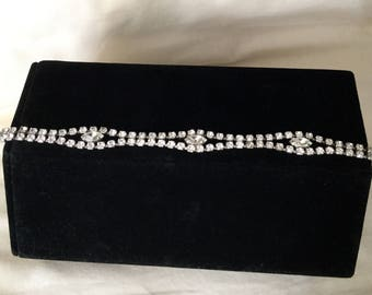 Vintage Kramer of New York Clear Rhinestone Bracelet