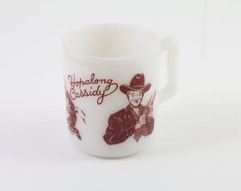 1950s Hopalong Cassidy Mug