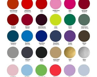 "12″x15″ sheets and 12""x 7.5"" sheets of SISER Easyweed Heat Transfer Vinyl- ships within 24 hours!  LOTS of colors to choose!"