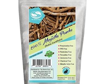 100 Grams / 3.53 Oz Manjistha Powder, 100% Pure & natural